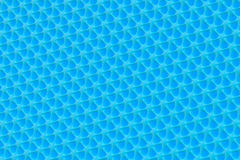 Blue metal background Stock Image