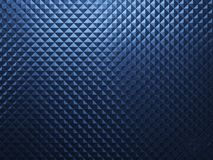 Blue metal background Stock Photography