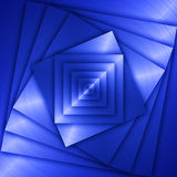 Blue Metal background Royalty Free Stock Photos