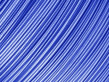 Blue Metal Background - Steel wire cable Stock Photos Stock Image