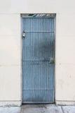 Blue Metal Door Royalty Free Stock Image