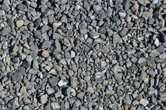 Blue Metal Gravel royalty free stock images