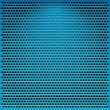 Blue metal grid Royalty Free Stock Image