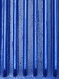 Blue metal industrial background Royalty Free Stock Photos