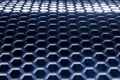 Blue Metal Mesh Royalty Free Stock Image