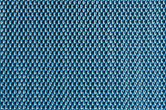 Blue metal mesh plating Royalty Free Stock Image