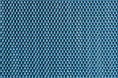 Blue metal mesh plating Royalty Free Stock Image