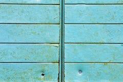 Blue metal Stock Image