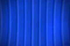 Blue metal plate wall texture and background Royalty Free Stock Photos