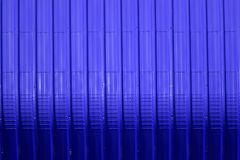 Blue metal sheet pattern and vertical line design. Metal sheet pattern and vertical line design on surface abstract aluminum architecture background blank bright royalty free stock photography