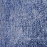 Blue metal surface with scratches and stains Royalty Free Stock Images