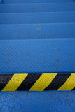 Blue Metal Surface Stock Images