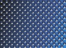 Blue metal texture beads Royalty Free Stock Photos