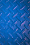 Blue metal texture Royalty Free Stock Photography