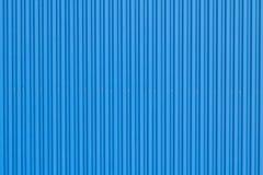 Blue metal wall Stock Photo