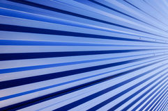 Blue metal wall Royalty Free Stock Photo