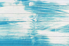 Blue metal wall texture with white paint layer Stock Photos