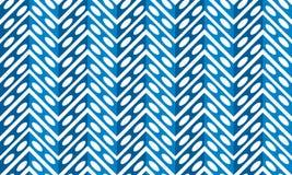 Free Blue Metalic Fern Pattern Seamless Stock Image - 91004991