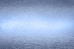 Blue Metallic Abstract Background Stock Photo