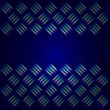Blue Metallic Background stock illustration