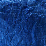 Blue metallic background Royalty Free Stock Photography