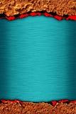Blue metallic background Royalty Free Stock Photo