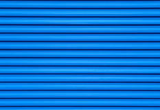 Blue Metallic Background. A background of a blue metallic shutter Stock Photos