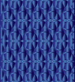 Blue metallic celtic knot background Royalty Free Stock Photos