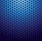 Blue metallic grid background Royalty Free Stock Photo