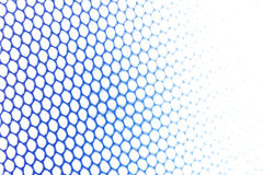 Blue metallic netting Royalty Free Stock Images