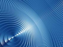 Blue Metallic Screen Stock Images