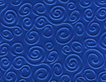 Blue metallized paper background Royalty Free Stock Photography