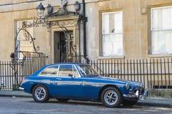 Blue MG MGB GT Stock Image