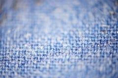 Blue micro fiber texture Stock Image