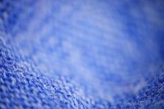 Blue micro fiber texture Stock Images