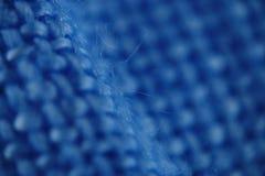Blue micro fiber texture Royalty Free Stock Photos