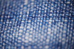 Blue micro fiber texture Stock Photos