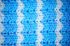 Blue micro fiber texture Stock Photo