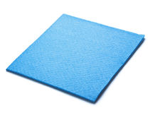Blue microfiber duster Stock Photos
