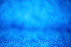 Blue microfiber fleece Royalty Free Stock Images