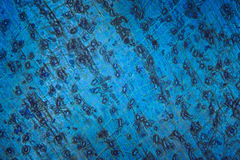 Blue microscopic background. Blue abstract texture under microscope. Colorful microscopic background, pattern Stock Photography