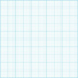 Blue millimeter paper background. Square grid background. Vector illustration Royalty Free Stock Photos