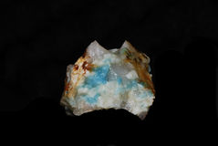 Blue mineral Stock Image