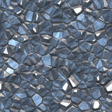 Blue Mineral Abstract Royalty Free Stock Photos
