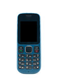 Blue mobile phone Royalty Free Stock Photography