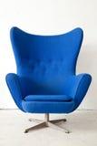 Blue modern Armchair royalty free stock photos