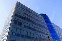 Blue modern building Royalty Free Stock Photo