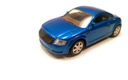 Blue modern car Royalty Free Stock Image