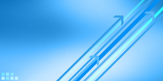 Blue modern design. Modern blue business growth concept Royalty Free Stock Image