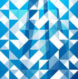 Blue modern geometric design template Royalty Free Stock Photos